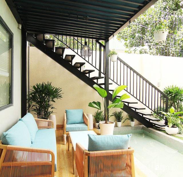 Căn nhà phố bên ngoài thì giản dị nhưng bên trong lại vô cùng sinh động ở Sài Gòn - Ảnh 15.