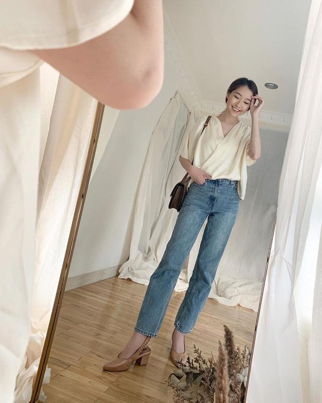 Suốt ngày diện đồ trắng, cô nàng này chưa bao giờ thất bại trong việc mặc đẹp từ công sở ra phố - Ảnh 5.