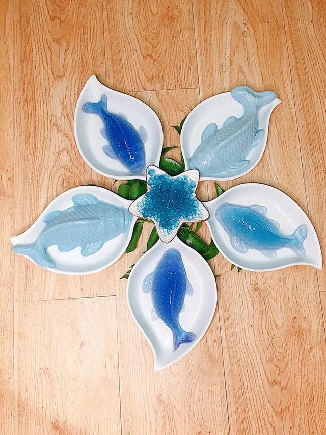 Mẹ 8x gây bão MXH với loạt món ăn xanh mướt từ hoa đậu biếc, chỉ nhìn đã thấy mát lịm tim! - Ảnh 7.
