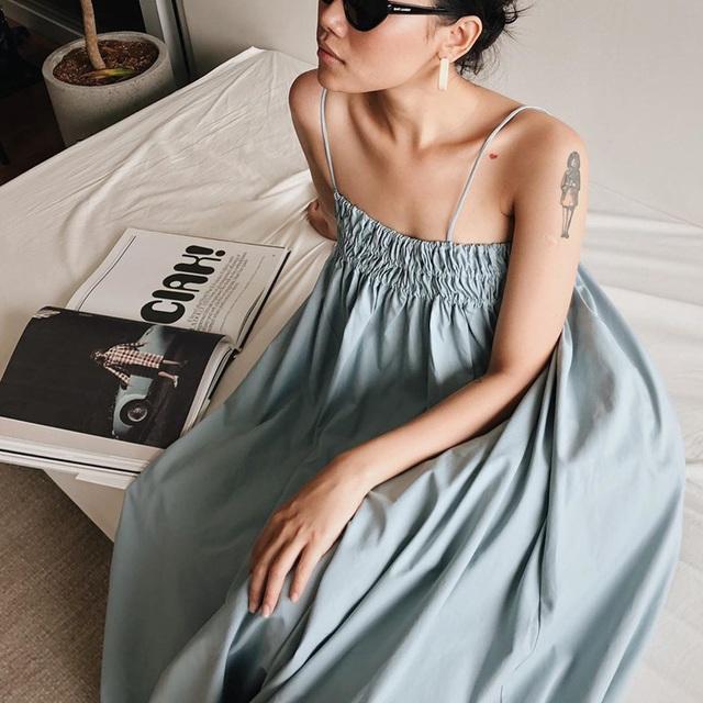 Có 5 kiểu váy các sao Việt đang diện tới diện lui, bạn cứ sắm theo là mặc đẹp nguyên hè - Ảnh 7.