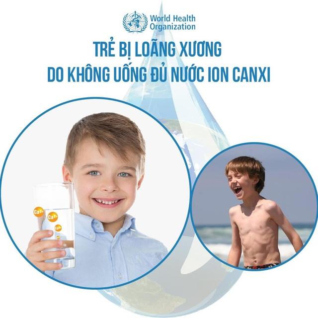 Nước ion canxi ngăn chặn tình trạng loãng xương ở trẻ nhỏ - Ảnh 1.