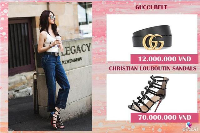Bộ sưu tập đồ hiệu khủng của hoa hậu richkid Jolie Nguyễn, món đắt nhất là 300 triệu đồng khiến fan mắt tròn mắt dẹt - Ảnh 19.