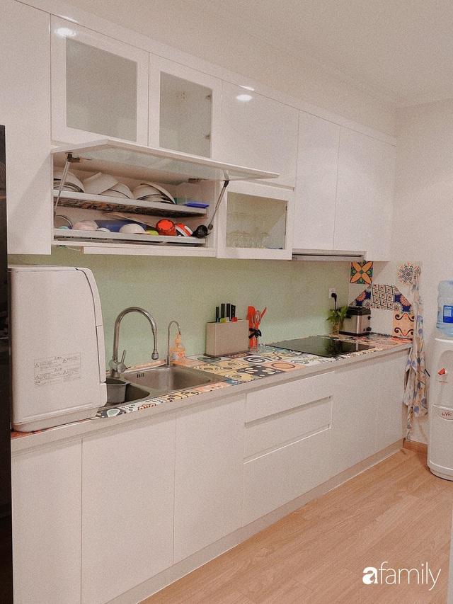 Không cần thuê thiết kế nội thất, mẹ đảm ở Hà Nội tạo nên căn hộ 130m2 có gam màu hồng xinh không tưởng - Ảnh 19.
