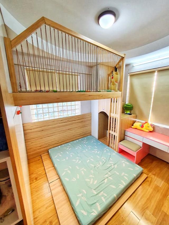 Ông bố trẻ quyết định đầu tư làm tặng con gái 1 phòng gác lửng đẹp như mơ với chi phí thật sự ấn tượng - Ảnh 6.