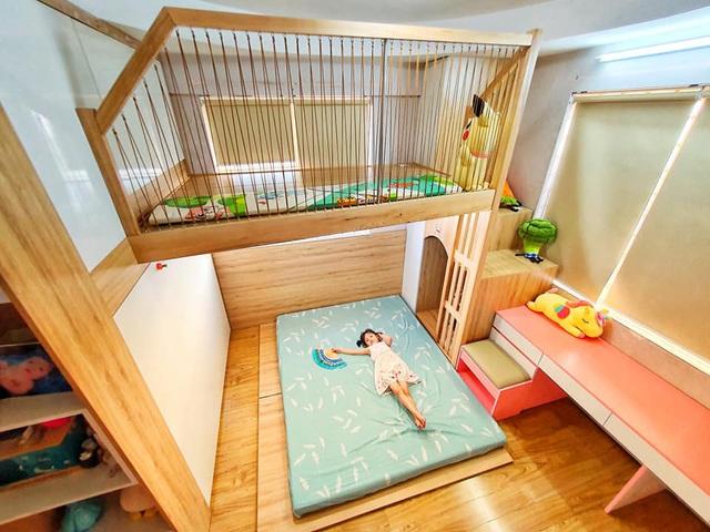 Ông bố trẻ quyết định đầu tư làm tặng con gái 1 phòng gác lửng đẹp như mơ với chi phí thật sự ấn tượng - Ảnh 10.