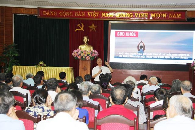 Phú Thọ tổ chức tọa đàm cung cấp kiến thức về chăm sóc sức khỏe người cao tuổi - Ảnh 4.