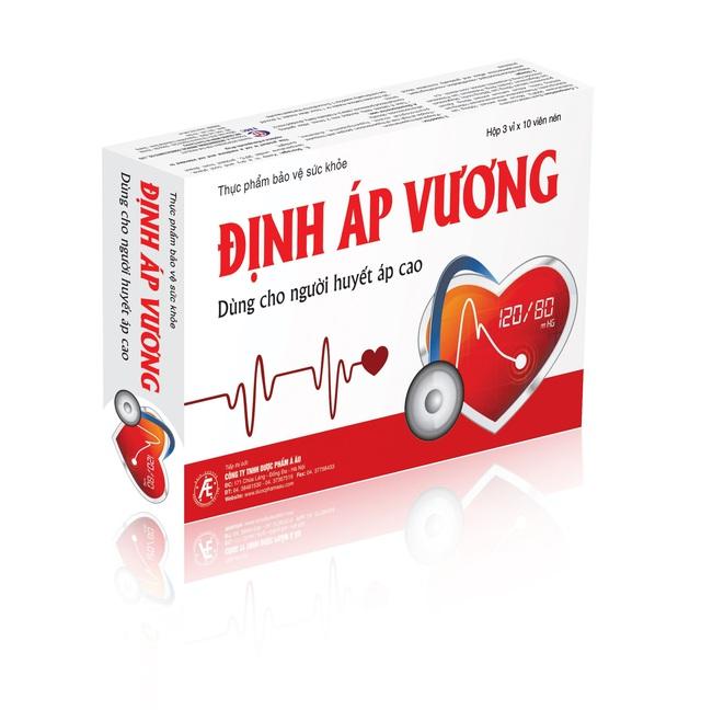 Xu hướng mới giúp hỗ trợ cải thiện tăng huyết áp vô căn nhờ Định Áp Vương - Ảnh 3.