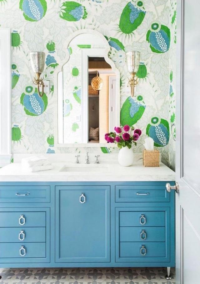 Những bí mật trang trí tường phòng tắm tạo nên không gian vui nhộn, đặc sắc - Ảnh 14.
