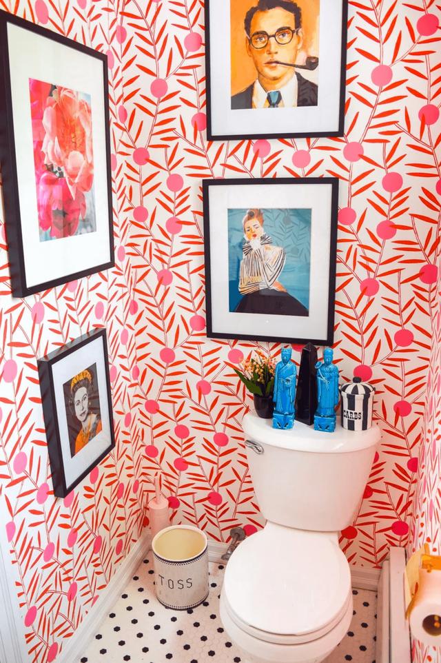 Những bí mật trang trí tường phòng tắm tạo nên không gian vui nhộn, đặc sắc - Ảnh 16.
