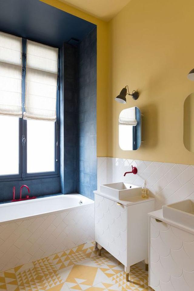 Những bí mật trang trí tường phòng tắm tạo nên không gian vui nhộn, đặc sắc - Ảnh 17.