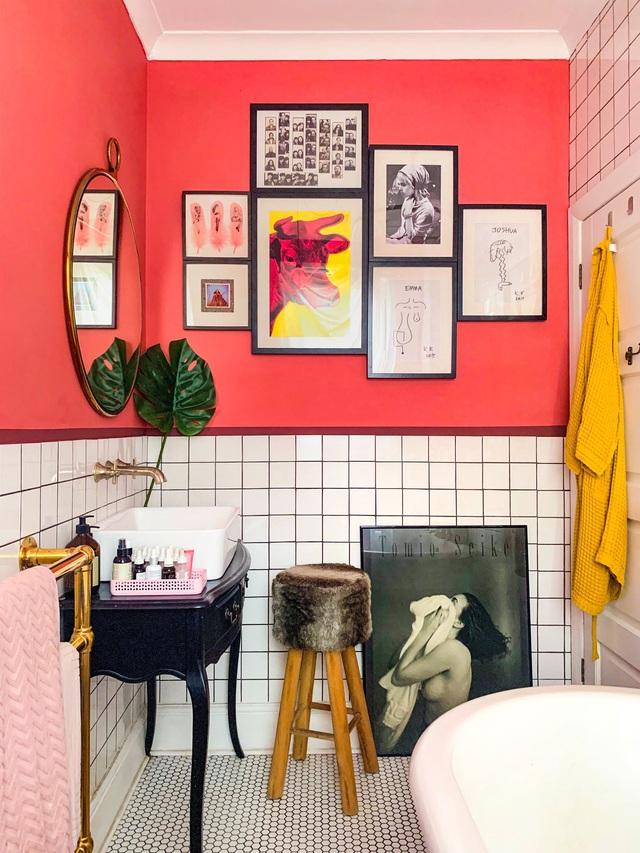 Những bí mật trang trí tường phòng tắm tạo nên không gian vui nhộn, đặc sắc - Ảnh 18.