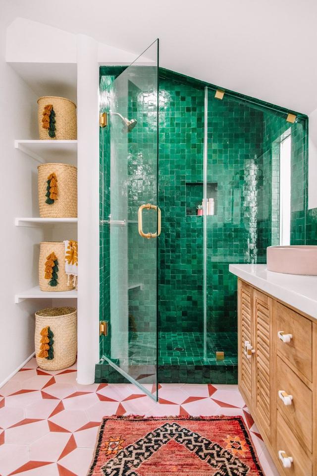 Những bí mật trang trí tường phòng tắm tạo nên không gian vui nhộn, đặc sắc - Ảnh 19.