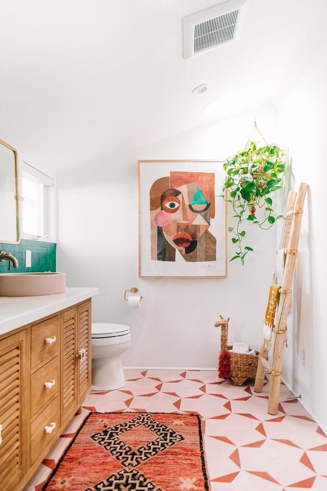 Những bí mật trang trí tường phòng tắm tạo nên không gian vui nhộn, đặc sắc - Ảnh 20.
