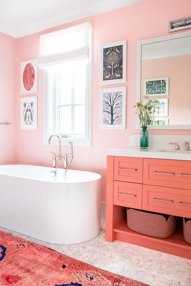 Những bí mật trang trí tường phòng tắm tạo nên không gian vui nhộn, đặc sắc - Ảnh 5.