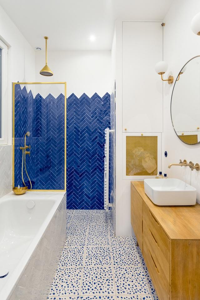 Những bí mật trang trí tường phòng tắm tạo nên không gian vui nhộn, đặc sắc - Ảnh 9.