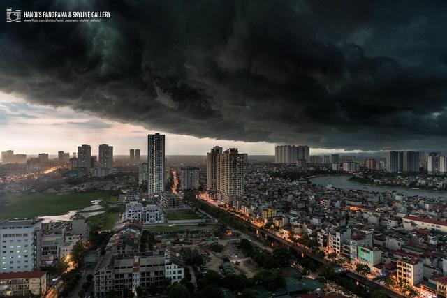 Thông tin mới nhất về đợt mưa dông ở miền Bắc - Ảnh 1.