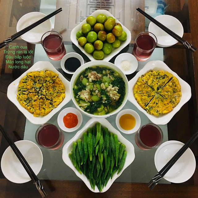 Vào bếp nấu ăn thần tốc, vợ đảm khiến hội chị em trầm trồ không ngớt vì mâm cơm nào cũng ngon đẹp như mâm cỗ - Ảnh 8.