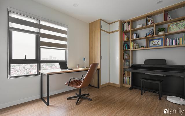 Chiêm ngưỡng sự hòa trộn của phong cách Scandinavian và Minimalism chỉn chu đến từng chi tiết trong căn hộ 100m² ở Tây Hồ, Hà Nội - Ảnh 13.