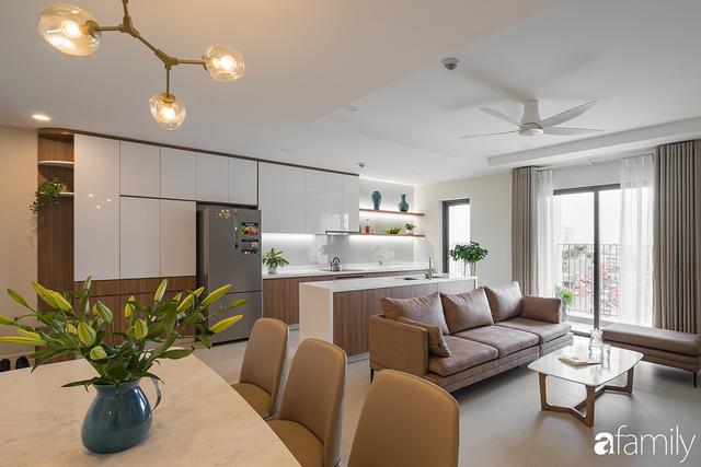 Chiêm ngưỡng sự hòa trộn của phong cách Scandinavian và Minimalism chỉn chu đến từng chi tiết trong căn hộ 100m² ở Tây Hồ, Hà Nội - Ảnh 3.