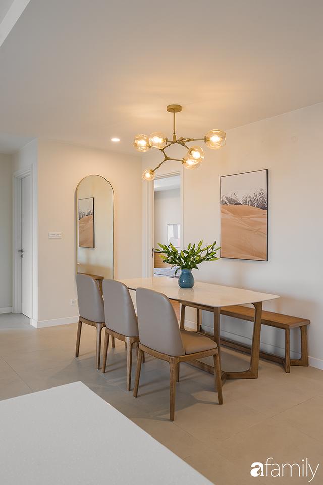 Chiêm ngưỡng sự hòa trộn của phong cách Scandinavian và Minimalism chỉn chu đến từng chi tiết trong căn hộ 100m² ở Tây Hồ, Hà Nội - Ảnh 5.