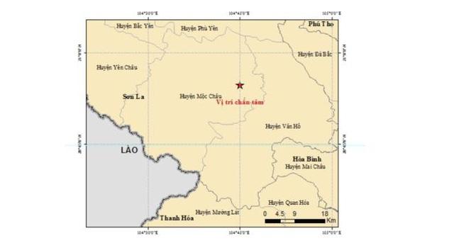 Tiếp tục xảy ra trận động đất thứ 12 tại Sơn La trong hơn 1 ngày - Ảnh 2.