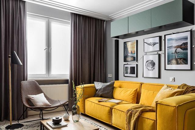 Dù phòng khách nhà bạn có nhỏ thế nào đi nữa thì vẫn đẹp hoàn hảo nhờ 3 kinh nghiệm lựa chọn ghế sofa dưới đây - Ảnh 2.