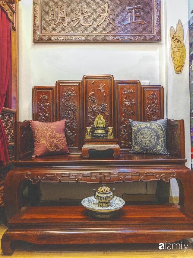 Ngôi nhà 70m² với phong cách độc nhất vô nhị toàn đồ quý hiếm của chàng trai độc thân Hà Nội - Ảnh 12.