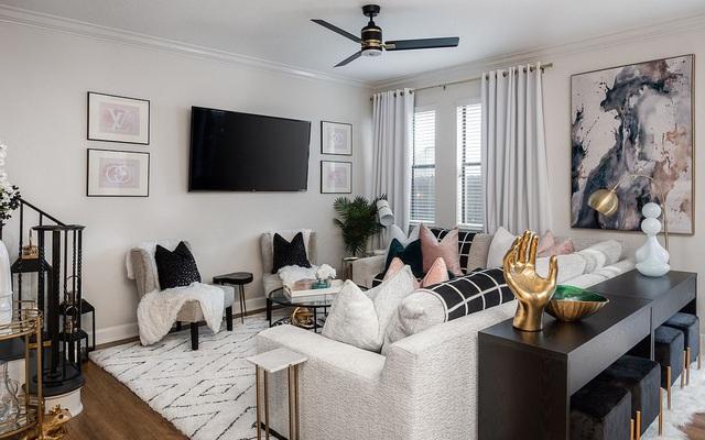 Dù phòng khách nhà bạn có nhỏ thế nào đi nữa thì vẫn đẹp hoàn hảo nhờ 3 kinh nghiệm lựa chọn ghế sofa dưới đây - Ảnh 7.
