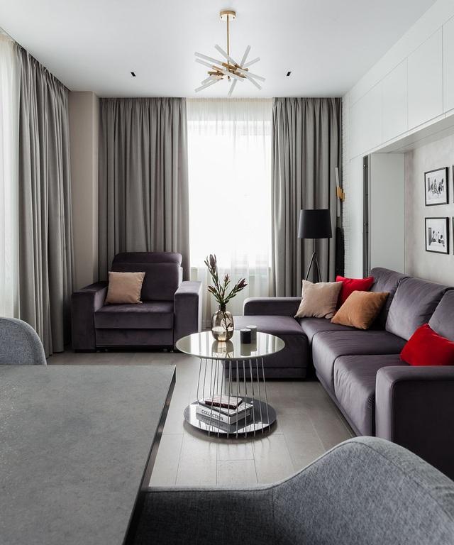 Dù phòng khách nhà bạn có nhỏ thế nào đi nữa thì vẫn đẹp hoàn hảo nhờ 3 kinh nghiệm lựa chọn ghế sofa dưới đây - Ảnh 9.
