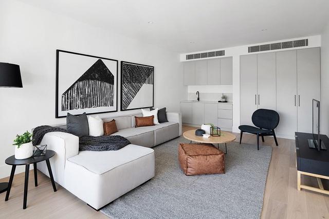 Dù phòng khách nhà bạn có nhỏ thế nào đi nữa thì vẫn đẹp hoàn hảo nhờ 3 kinh nghiệm lựa chọn ghế sofa dưới đây - Ảnh 10.