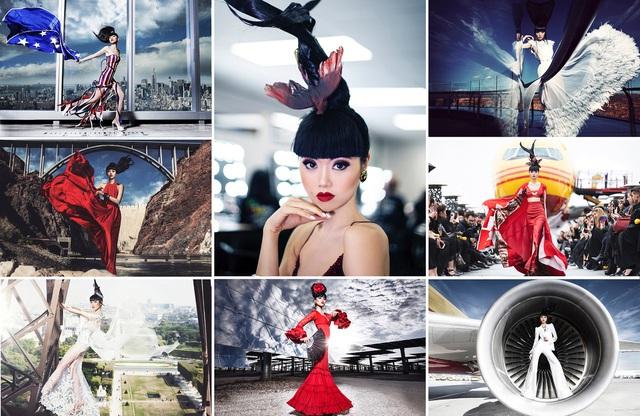 Siêu mẫu quốc tế Jessica Minh Anh đưa du lịch Việt Nam lên các kênh truyền thông CNN, BBC, Fox - Ảnh 3.
