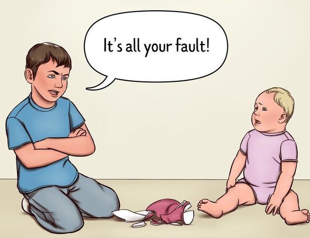 5 lý do bạn không nên để con lớn trông em - Ảnh 4.