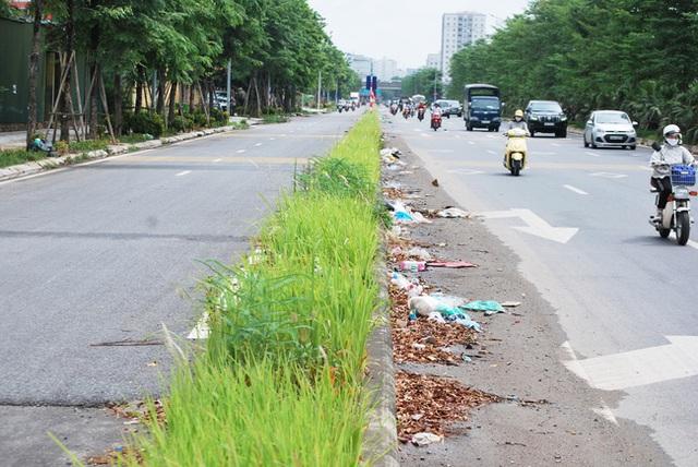 Hà Nội: Đại lộ nghìn vừa tỷ thông xe đã ngập trong rác, nước miễn phí đặt ven đường không ai uống - Ảnh 6.