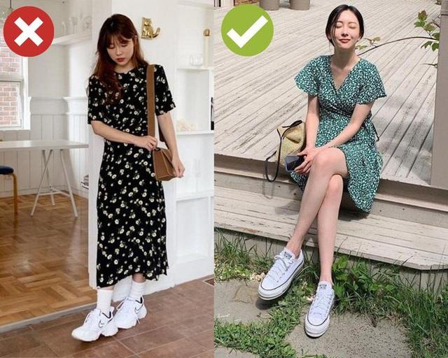 3 cặp giày dép + váy cứ đi với nhau là dễ toang cả set đồ, diện lên bị chê mặc xấu cũng không có gì lạ - Ảnh 1.