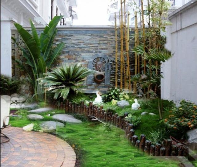 Mướt mắt với những mẫu vườn tí hon siêu đẹp cho nhà diện tích nhỏ - Ảnh 2.