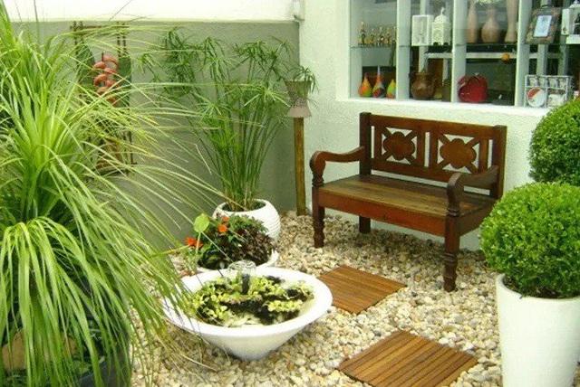 Mướt mắt với những mẫu vườn tí hon siêu đẹp cho nhà diện tích nhỏ - Ảnh 5.