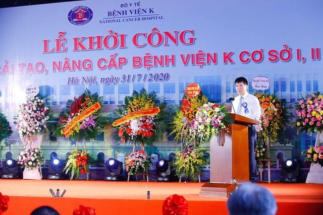 750 tỷ đồng đầu tư nâng cấp, cải tạo cơ sở 1, 2 Bệnh viện K - Ảnh 2.