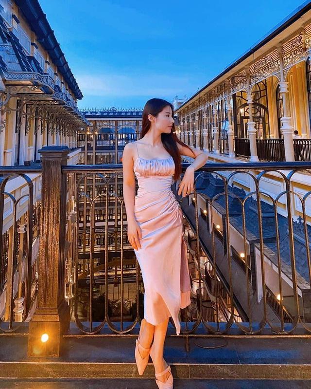 Sao Việt hack dáng đỉnh cao với mẫu váy rút dây - Ảnh 6.