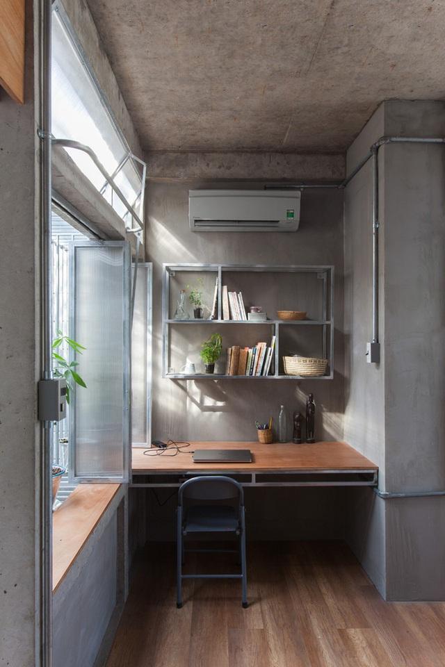 Ngôi nhà gạch khối và bê tông thoáng mát trong tiết trời nóng bức - Ảnh 6.