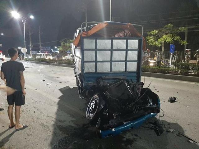 Hai ô tô đâm trực diện ở Quảng Ninh, một người tử vong - Ảnh 2.