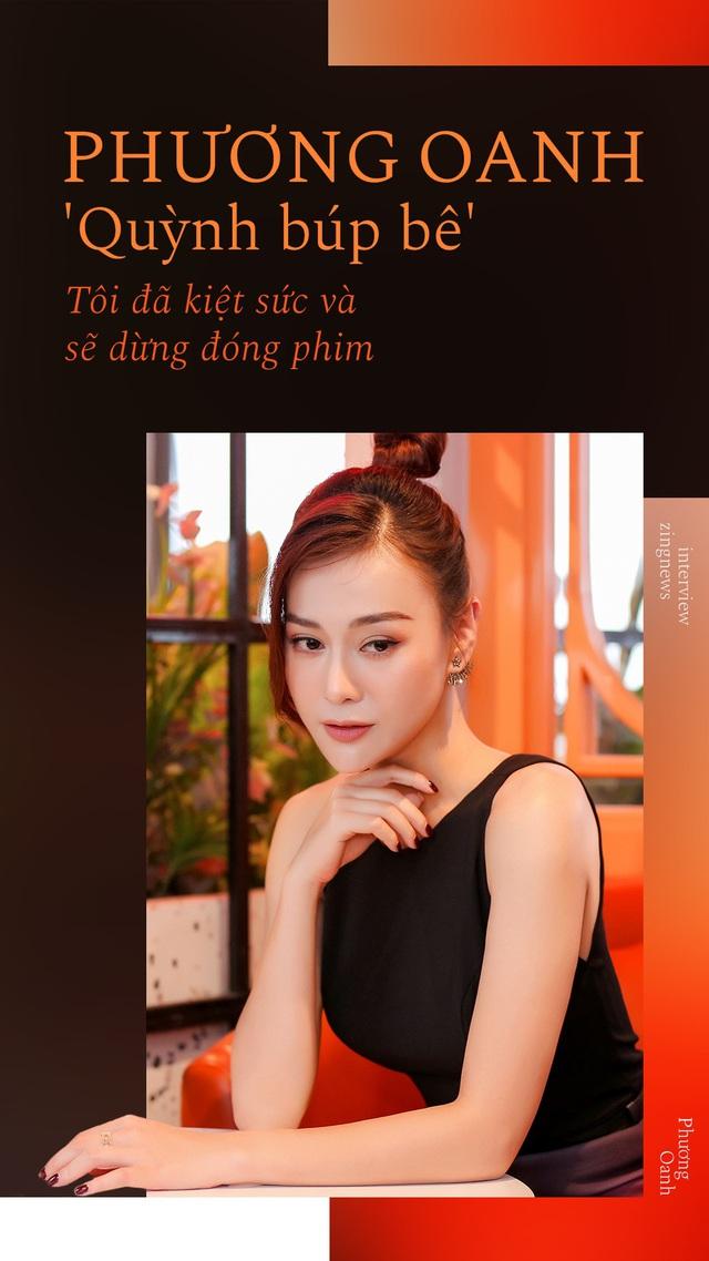 Quỳnh búp bê Phương Oanh: Tôi đã kiệt sức và sẽ tạm dừng đóng phim - Ảnh 1.