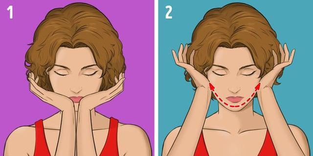 Được coi là phương pháp giúp khuôn mặt trẻ hơn 10 tuổi mà không tốn kém, chị em tiếc gì 5 phút mỗi ngày mà không thực hiện ngay - Ảnh 11.