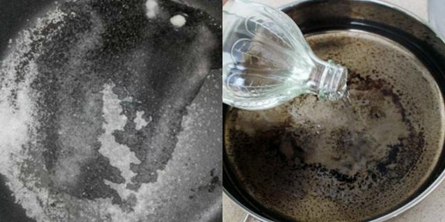 Không cần cọ rửa, chảo cháy khét, bám đen đến mấy cũng sạch bong, sáng bóng nhờ cách cực dễ này - Ảnh 6.