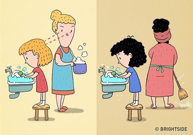 8 nguyên tắc vàng trong nuôi dạy con bố mẹ tuyệt đối không được quên - Ảnh 3.
