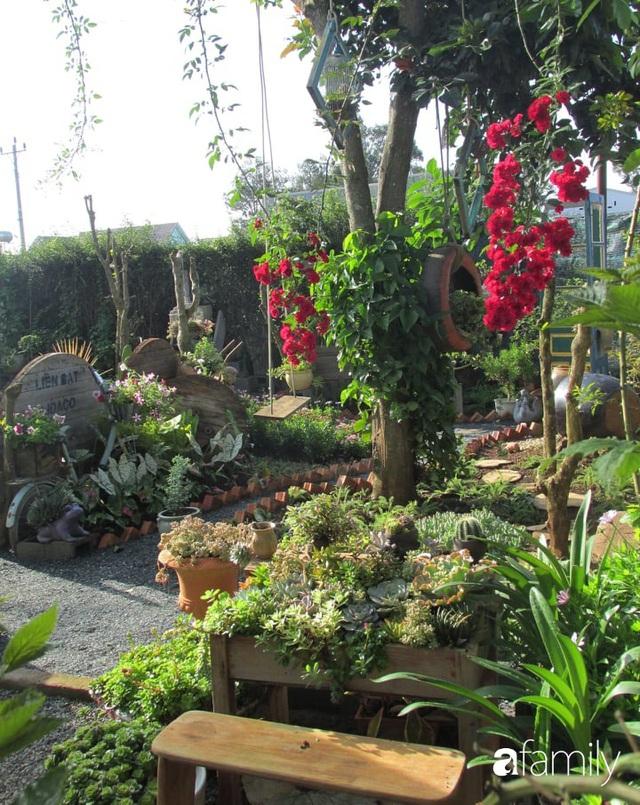 Chỉ tốn hơn 1 triệu đồng, mẹ trẻ biến hình mảnh đất nhỏ trở thành khu vườn trồng xương rồng, sen đá đẹp mê mẩn ở Đà Lạt - Ảnh 22.