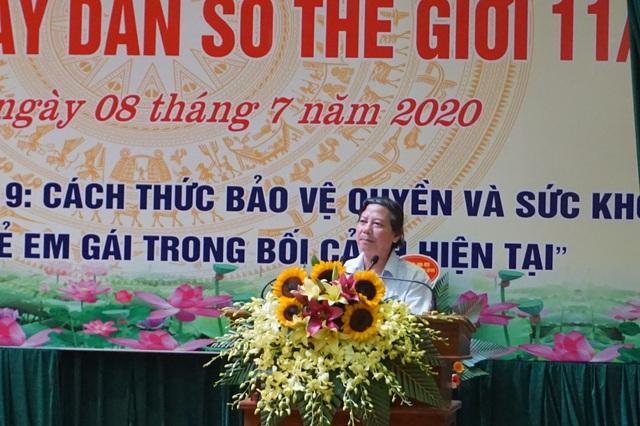 Hà Nội tổ chức Mít tinh kỷ niệm Ngày Dân số Thế giới 11/7 - Ảnh 3.