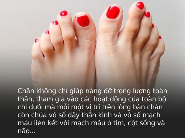 Bàn chân là bộ não thứ 2 của cơ thể: Nếu có 3 sự thay đổi này ở chân, coi chừng nhiều cơ quan nội tạng đang kêu cứu - Ảnh 1.