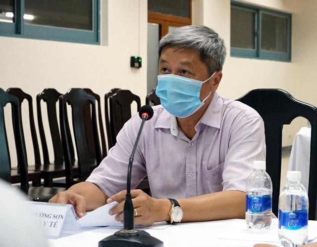 Thứ trưởng Nguyễn Trường Sơn: 10 ngày tới có thể sẽ là đỉnh dịch, người dân hết sức đề phòng - Ảnh 3.