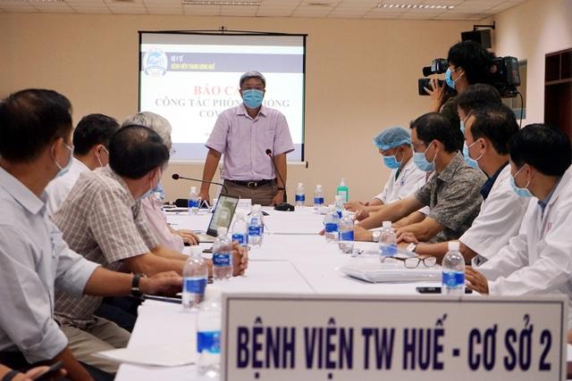 BV Trung ương Huế trở thành hậu phương vững chắc cho tuyến đầu Đà Nẵng - Ảnh 4.