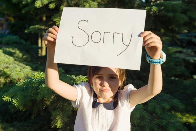 Dạy trẻ xin lỗi bằng hành động - Ảnh 2.